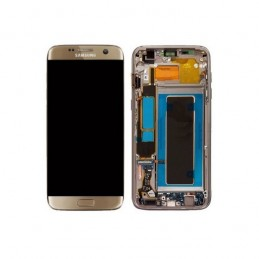Display + touchscreen Originale per Samsung Galaxy S7 Edge G935F GOLD