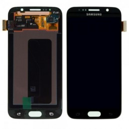 Display + touchscreen per Samsung   Galaxy S6 G920 G920A G920i G920T G920F G9200 black ORIGINALE