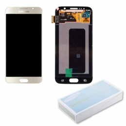 Display + touchscreen per Samsung   Galaxy S6 G920 G920A G920i G920T G920F G9200 GOLD ORIGINALE