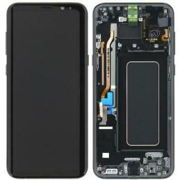 Display + touchscreen per Samsung Galaxy G950F GH97-20457C S8 PLUSNERO ORIGINALE