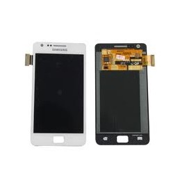Display + touchscreen per Samsung Galaxy s2 white i9100
