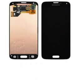 Display + touchscreen per Samsung Galaxy s5 i9600 SM-G900F blu/nero ORIGINALE