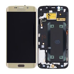 Display + touchscreen per Samsung Galaxy s6 Edge G925F ORO ORIGINALE