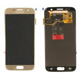 Display + touchscreen per Samsung Galaxy S7 G930F G930V G930P GOLD ORIGINALE