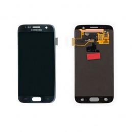 Display + touchscreen per Samsung Galaxy S7 G930F G930V G930P NERO ORIGINALE