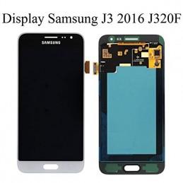 Display + touchscreen per Samsung Galaxy Samsung J320 Galaxy J3 2016 BIANCO ORIGINALE