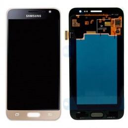 Display + touchscreen per Samsung Galaxy Samsung J320 Galaxy J3 2016 GH97-18414C GOLD ORIGINALE