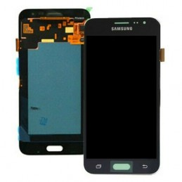 Display + touchscreen per Samsung Galaxy Samsung J320 Galaxy J3 2016 GH97-18414C NERO ORIGINALE