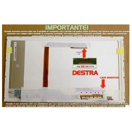 Display Lcd 15.6-pollici WXGA HD (1366x768) + ADATTATORE