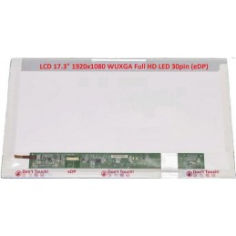 Display lcd 17,3 1920x1080 30 pin led