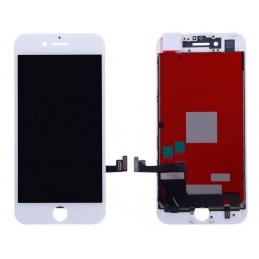 Display Lcd Hd completo di Touch screen e vetro Iphone 8 Bianco Tripla A