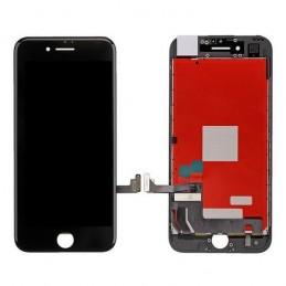 Display Lcd Hd completo di Touch screen e vetro Iphone 8 Plus Nero Tripla A