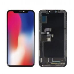 Display Lcd Hd completo di Touch screen e vetro Iphone X HQ OLED nero Tripla A Tianma