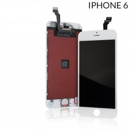 Display Lcd per Apple Iphone 6 completo di Touch screen e cornice bianco gold Tripla A