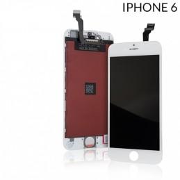Display Lcd per Apple Iphone 6 completo di Touch screen e cornice bianco gold Tripla A