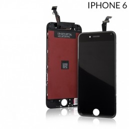 Display Lcd per Apple Iphone 6 completo di Touch screen e cornice nero Tripla A