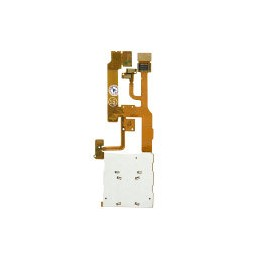 Flex cable LCD NOKIA 8600 with keypad plate