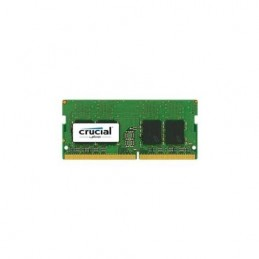 MEMORIA CRUCIALRAM 4GB 2.133 MHz TIPOLOGIA SODIMM TECNOLOGIA DDR4 CT4G4SFS8213