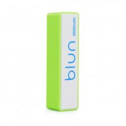 POWER BANK 2600 mAh Blun PERFUME verde