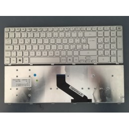 Tastiera Italiana per notebook Acer Aspire 5755 5755G AS5830T 5830T 5830 5830G 5830TG Silver Serie Laptop Packard Bell EasyNote