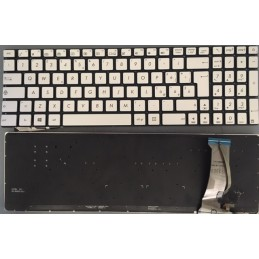 Tastiera Italiana per notebook ASUS ASUS R555 R555J R555JK R555JM G551 R555JQ G771 G771J G771JM G771JW N551 N551J N551JB N551JK
