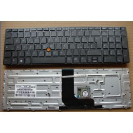Tastiera italiana per notebook HP   EliteBook 8560W HX0PF 9Z.N6GPF.00E 652682-061