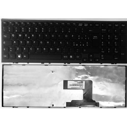 Tastiera Italiana per notebook Sony VPC-EL BLACK FRAME BLACK 9Z.N5CSW.A0E SBASW 148968841