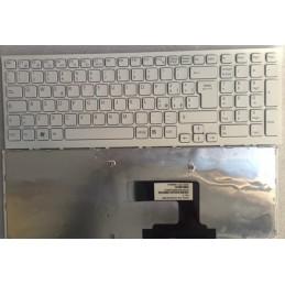 Tastiera Italiana per notebook Sony VPC-EL BLACK FRAME WHITE 9Z.N5CSW.A0E SBASW 148968841