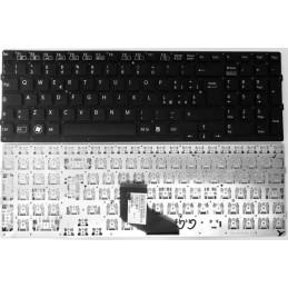 Tastiera Italiana per notebook Sony VPC-F219FC BLACK