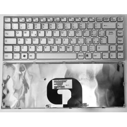 Tastiera Italiana per notebook Sony VPC-Y Silver Frame
