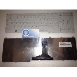 Tastiera Italiana per notebook Toshiba Satellite C650 L650 L655 L670 Pro C660 C660D L750 L750D L775 L775D L755 Bianca