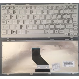 Tastiera Italiana per notebook Toshiba T110 Satellite Mini NB200 NB255 NB305 silver