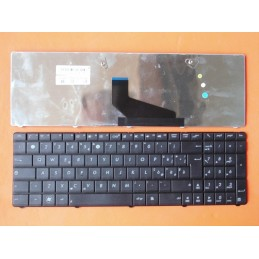 Tastiera Layout Us con stickers italiani in omaggio per notebook  ASUS A53 A53B A53U K53U K53TA X53U K53T K73 K73T Serie k53TA X