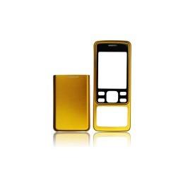 TELAIO CASE  NOKIA 6300 gold