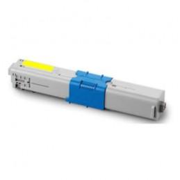 Toner per Oki C310 C330 C510 C530 44469704 yellow