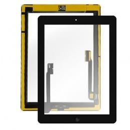 Touch Screen  Ipad 4 Nero  completi di tasto home e adesivi A1458 altissima qualità
