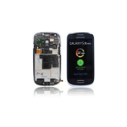 TOUCH SCREEN ORIGINALE + LCD SAM i8190 GALAXY S3MINI blu GH97-14204B
