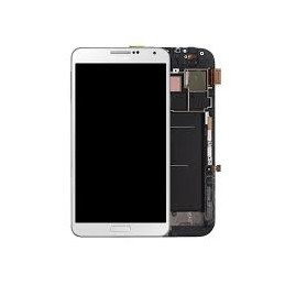 TOUCH SCREEN ORIGINALE + LCD SAM N9005 Note 3 bianco GH97-15209B GH97-15107B