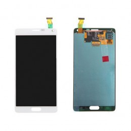 TOUCH SCREEN ORIGINALE + LCD SAM Note 4 BIANCO LTE N910