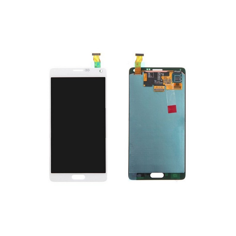 TOUCH SCREEN ORIGINALE + LCD SAM Note 4 BIANCO LTE N910