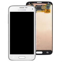 TOUCH SCREEN ORIGINALE + LCD SAMSUNG G800F S5 MINI BIANCO