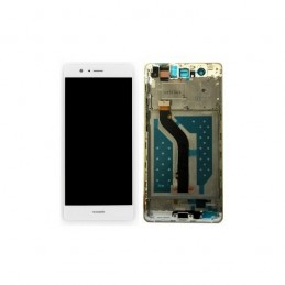 TOUCH SCREEN VETRO + LCD DISPLAY CON FRAME Huawei P9 Lite 2017 Bianco