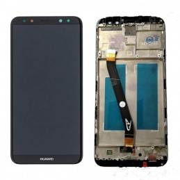 TOUCH SCREEN VETRO + LCD DISPLAY CON FRAME Per HUAWEI MATE 10 LITE RNE-L21