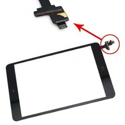 Touch screen vetro Apple iPad Mini 2 Nero A1489 A1490 A1491 serie completo connettore