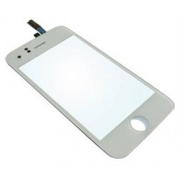 Touch screen vetro completo per Apple iPhone 3G bianco