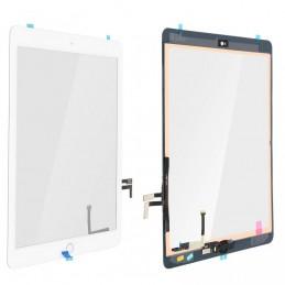 Touch Screen vetro iPad Air 5 2017 9,7 a1822 a1823 completo di adesivo tasto e flex bianco ALTISSIMA QUALITA\'