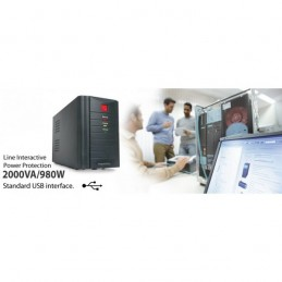 UPS 2000VA USB LINE INTERACTIVE POWER
