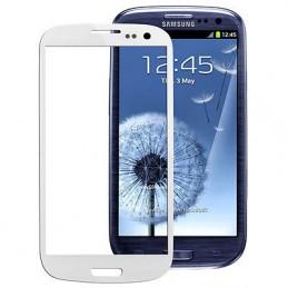 Vetro per touch screen Samsung Galaxy S3 i9300 bianco