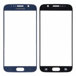 Vetro per touch screen Samsung GALAXY S6 BLUE