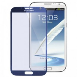 VETRO TOUCH SCREEN PER SAMSUNG N7100 VETRO TOUCHSCREEN GALAXY NOTE 2 blu
